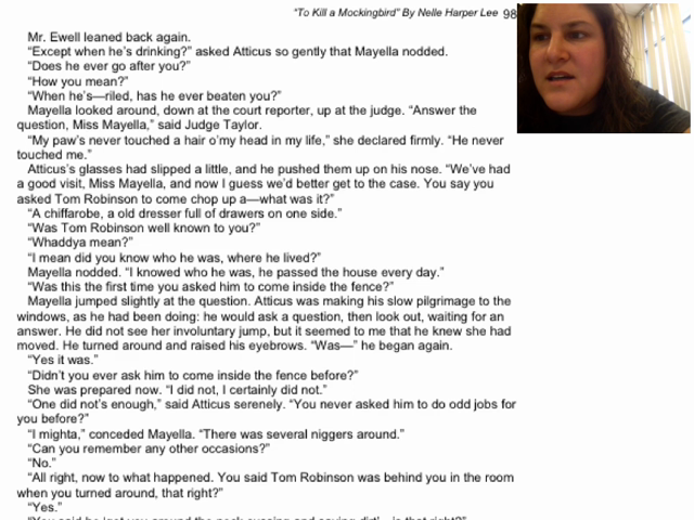 chapter 21 24 to kill a mockingbird quote analysis Get free homework help on harper lee's to kill a mockingbird: book summary,  chapter summary and analysis, quotes, essays, and character analysis courtesy.
