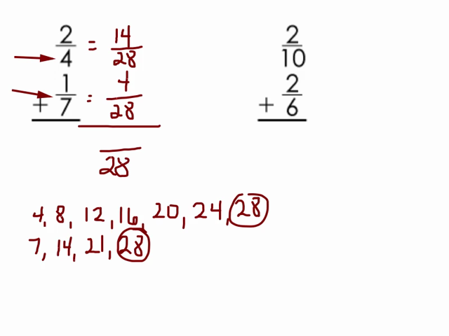 Day 6 Positive And Negative Fractions With Different Denominators