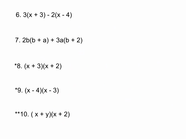 Algebraic Expression Worksheets 6Th Grade – Expression Worksheets