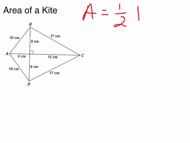 Area Of Kite 01:33 11.1 area of kites