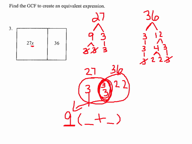 ... Using The GCF And Distributive Property. on distributive property gcf